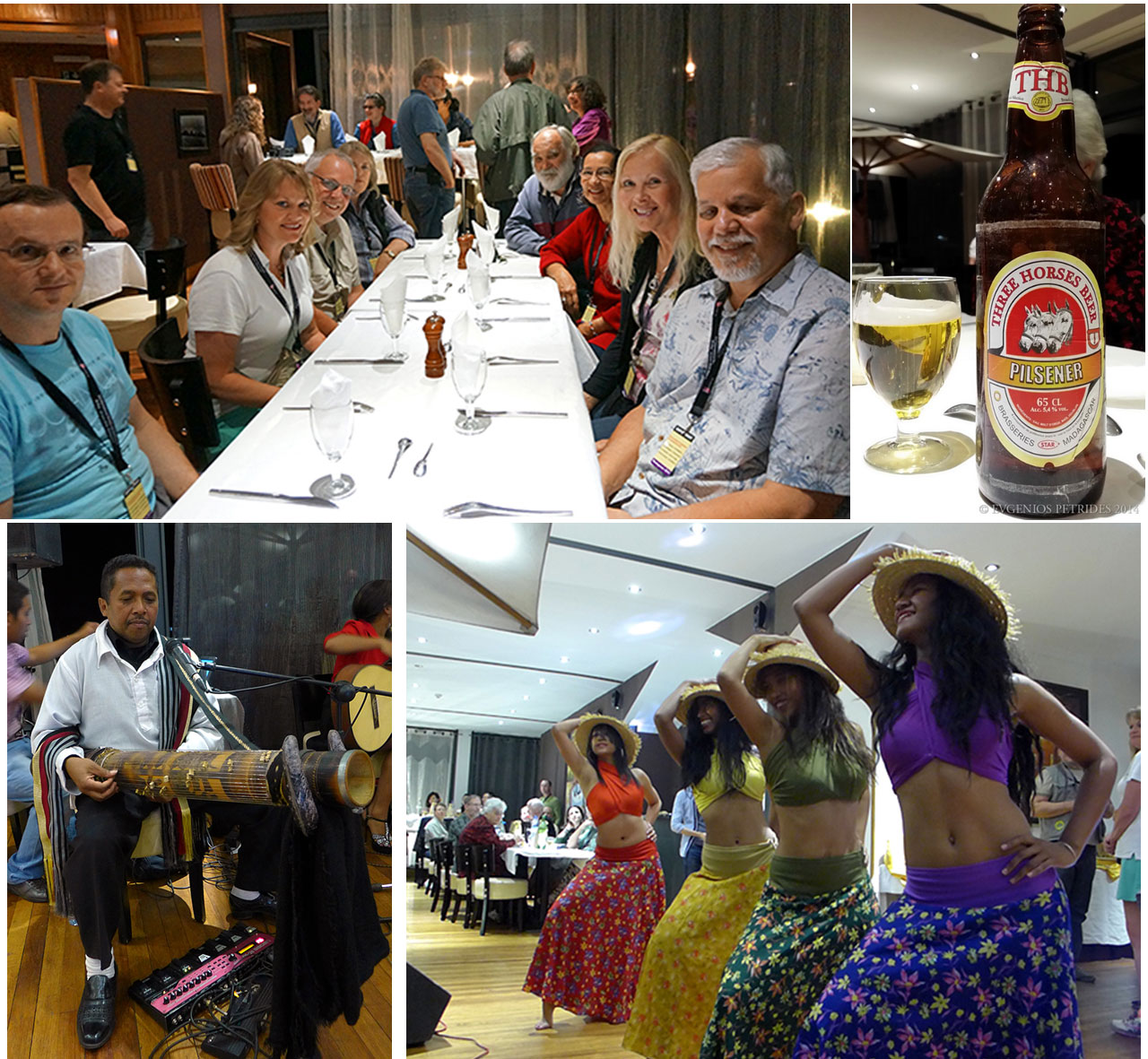 Antananarivo: Dinner Party with Entertainment